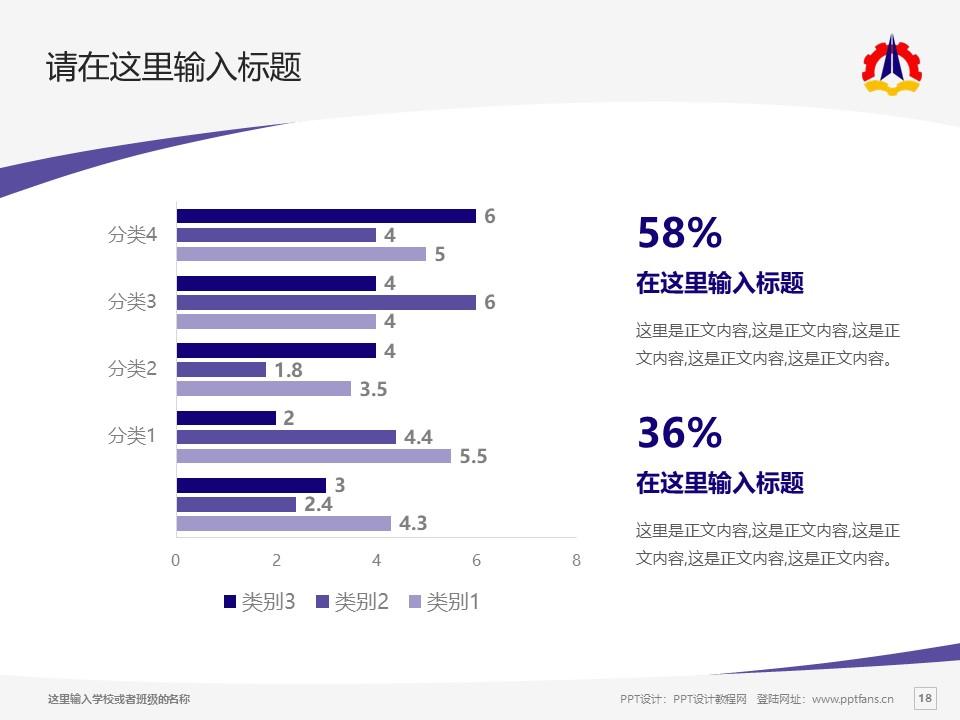 云南国防工业职业技术学院PPT模板下载_幻灯片预览图18