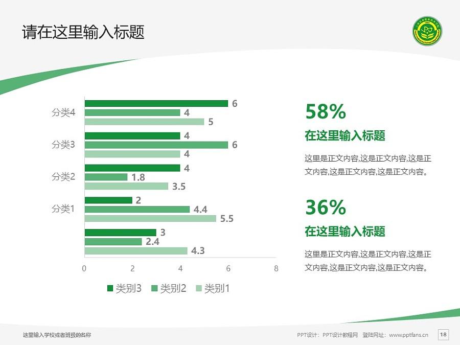 云南农业职业技术学院PPT模板下载_幻灯片预览图18