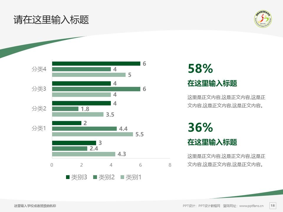 湖南外国语职业学院PPT模板下载_幻灯片预览图18
