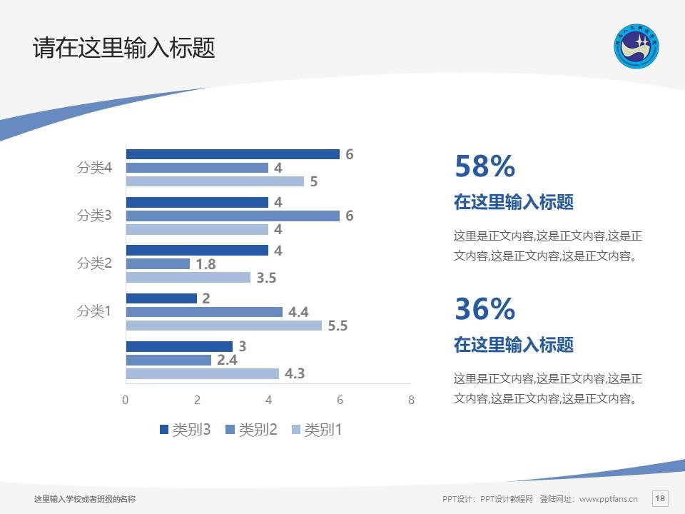 湖南人文科技学院PPT模板下载_幻灯片预览图18