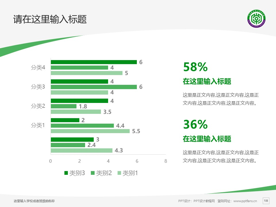 江西制造职业技术学院PPT模板下载_幻灯片预览图18