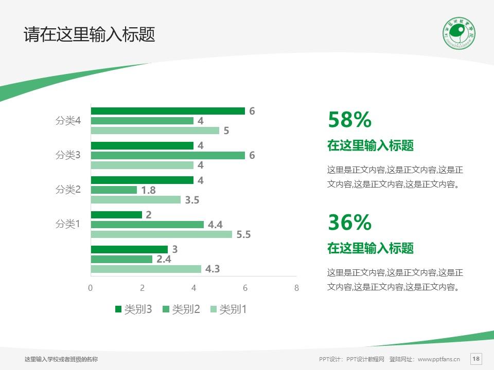 江西艺术职业学院PPT模板下载_幻灯片预览图18