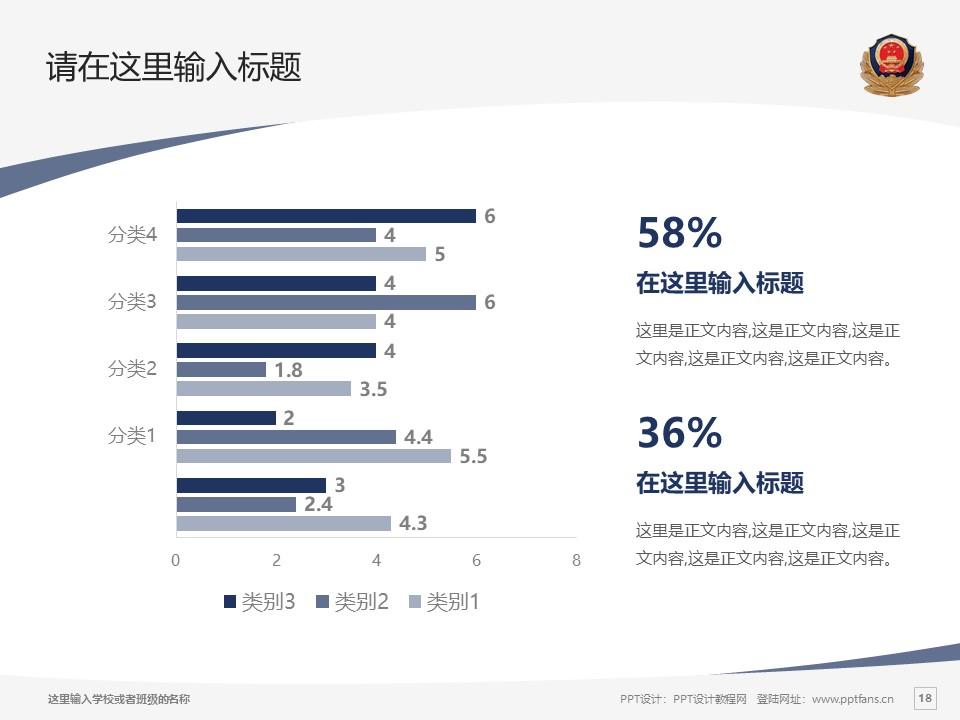 江西司法警官职业学院PPT模板下载_幻灯片预览图18