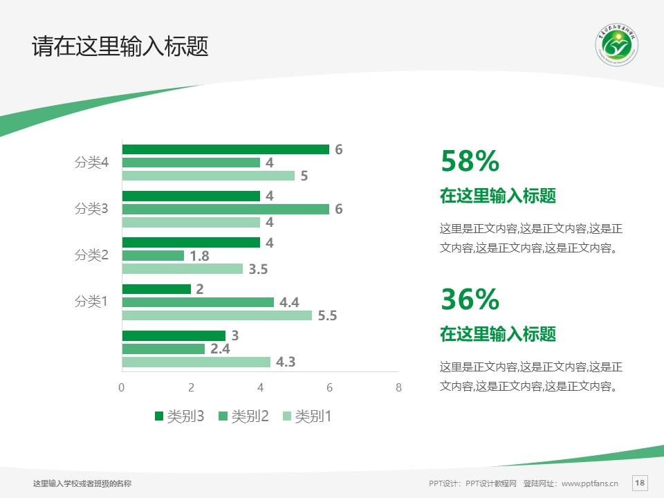 重庆医药高等专科学校PPT模板_幻灯片预览图18