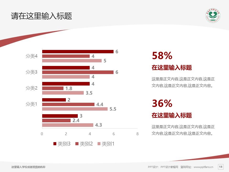 济南护理职业学院PPT模板下载_幻灯片预览图18