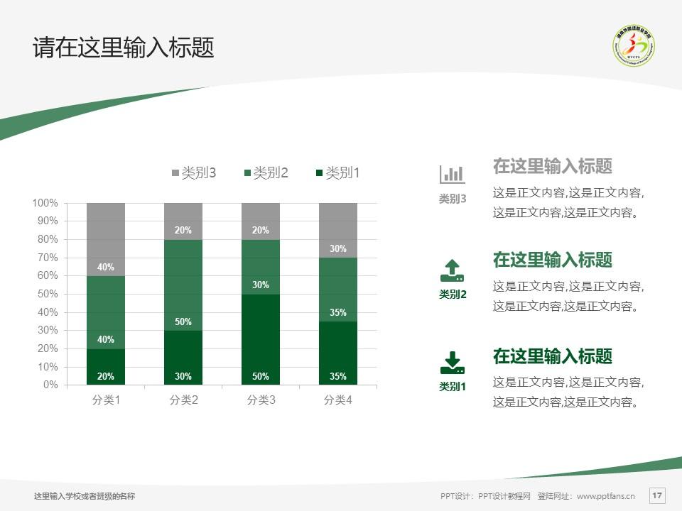 湖南外国语职业学院PPT模板下载_幻灯片预览图17