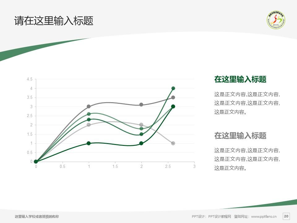 湖南外国语职业学院PPT模板下载_幻灯片预览图20
