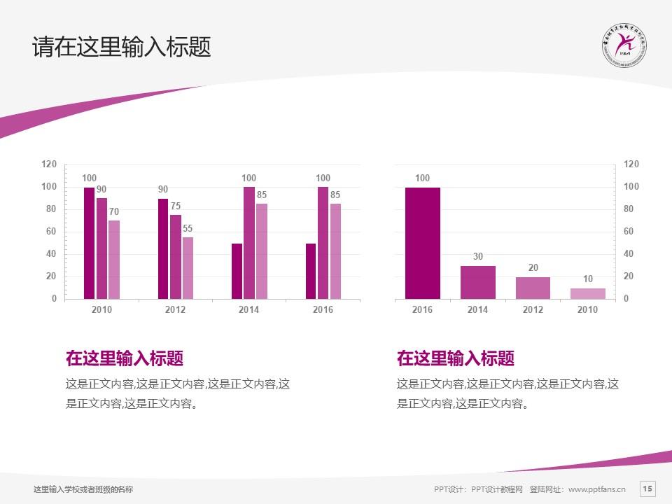 云南体育运动职业技术学院PPT模板下载_幻灯片预览图15