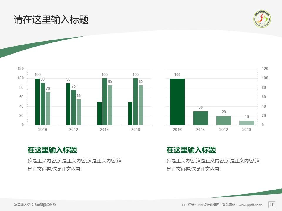 湖南外国语职业学院PPT模板下载_幻灯片预览图15