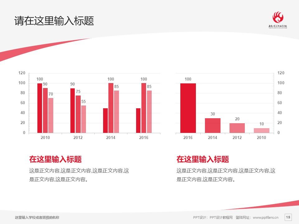 湖南工艺美术职业学院PPT模板下载_幻灯片预览图15