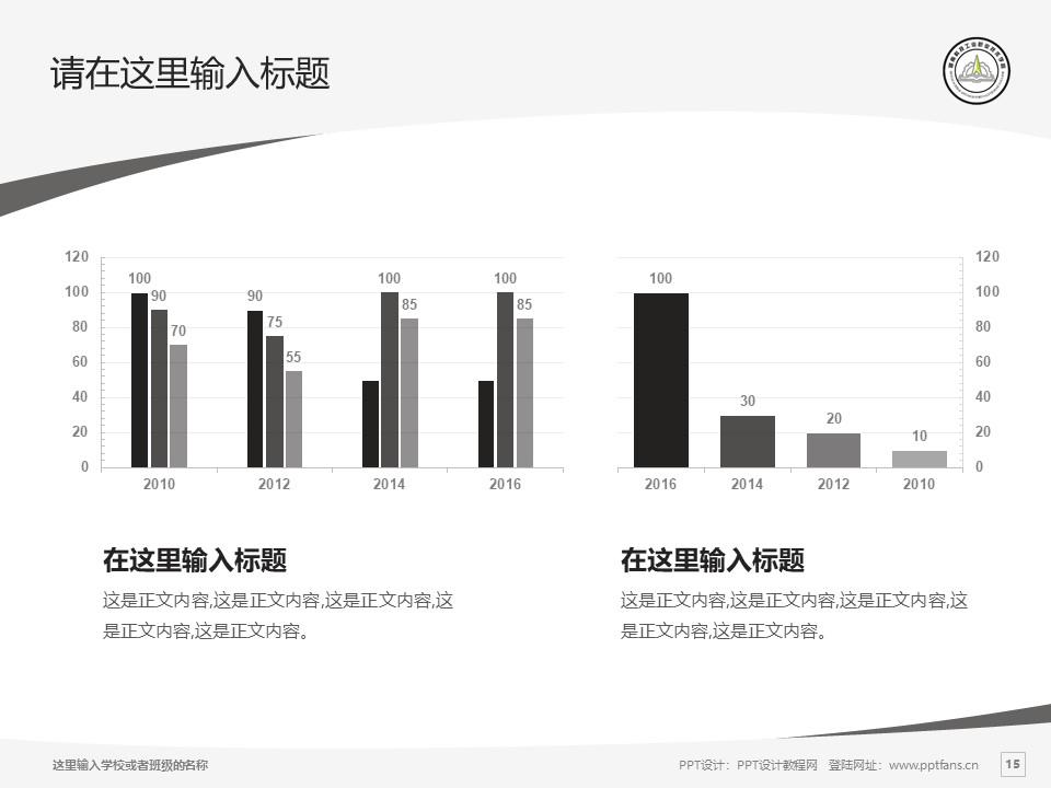 湖南科技工业职业技术学院PPT模板下载_幻灯片预览图15