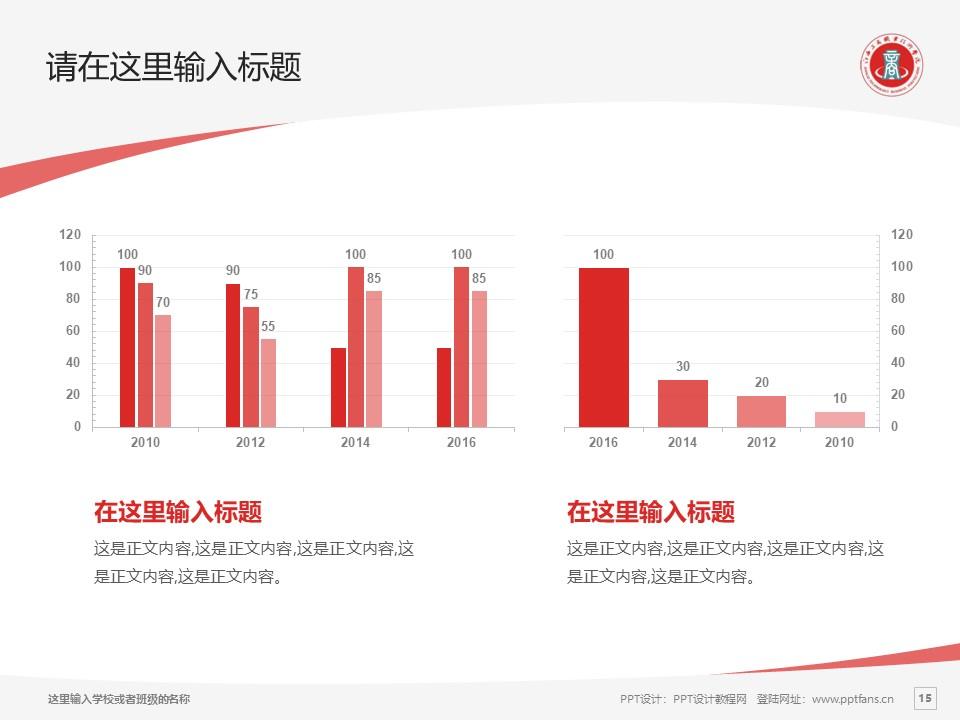 江西工商职业技术学院PPT模板下载_幻灯片预览图15