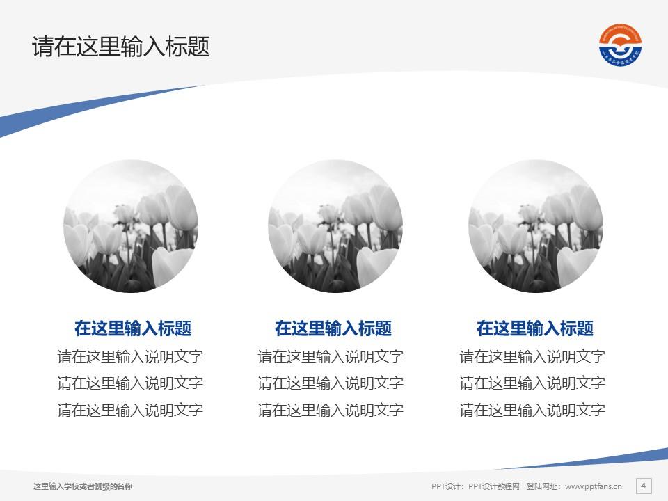 山东药品食品职业学院PPT模板下载_幻灯片预览图4