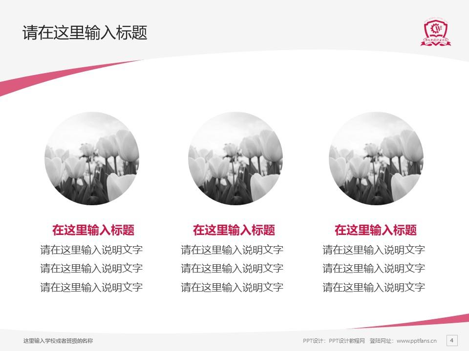 潍坊工程职业学院PPT模板下载_幻灯片预览图4
