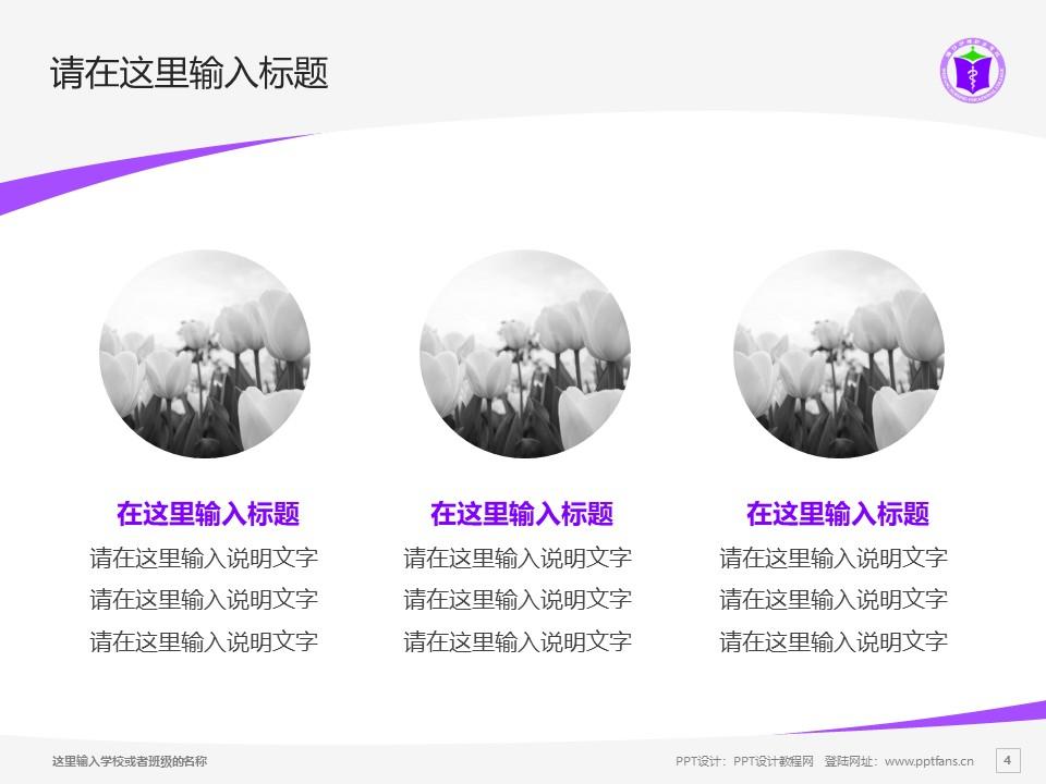 潍坊护理职业学院PPT模板下载_幻灯片预览图4