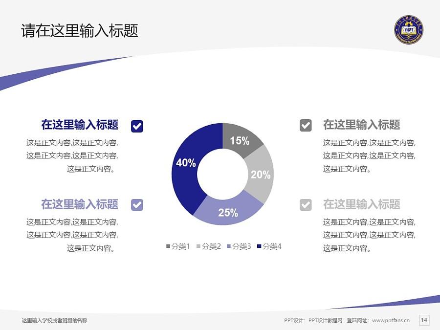 云南商務職業學院PPT模板下載_幻燈片預覽圖14