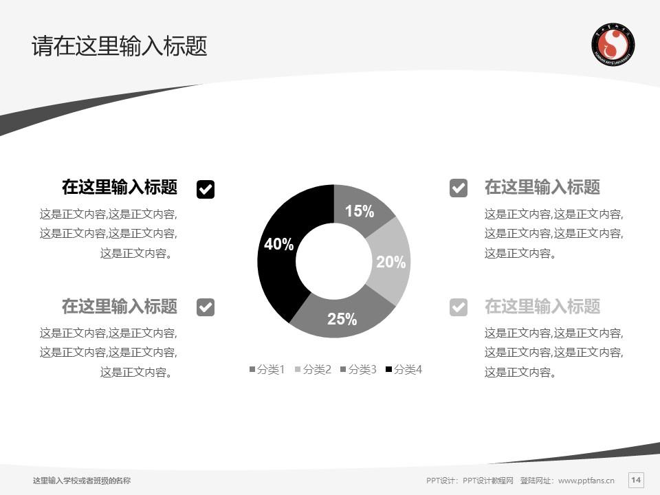 云南艺术学院PPT模板下载_幻灯片预览图14