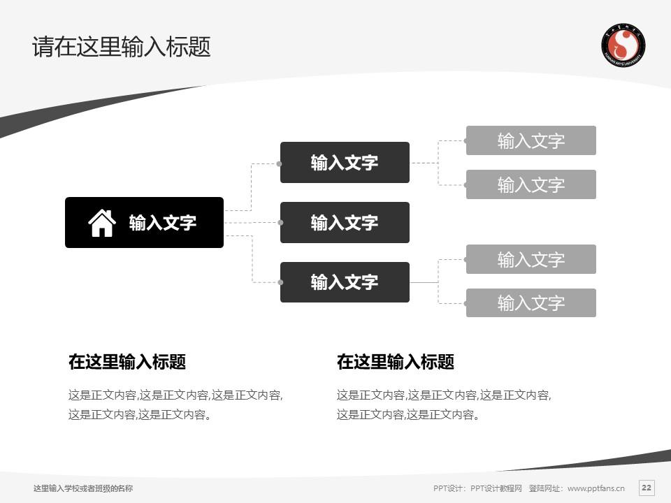 云南艺术学院PPT模板下载_幻灯片预览图22