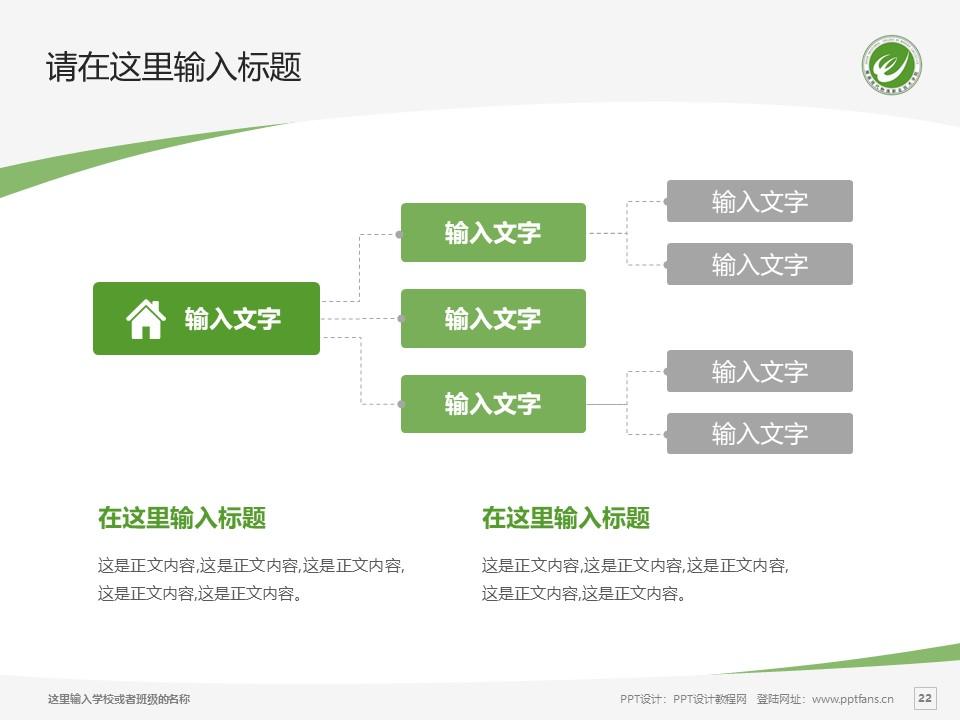 湖南现代物流职业技术学院PPT模板下载_幻灯片预览图21