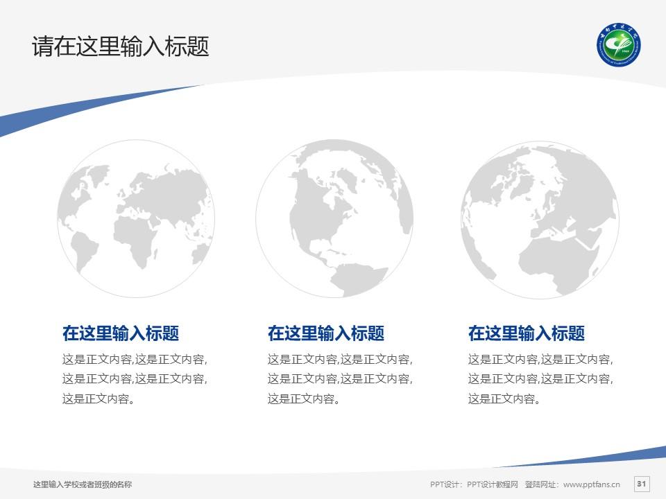 云南中医学院PPT模板下载_幻灯片预览图31