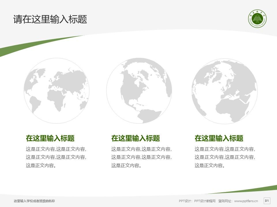 西南林业大学PPT模板下载_幻灯片预览图30