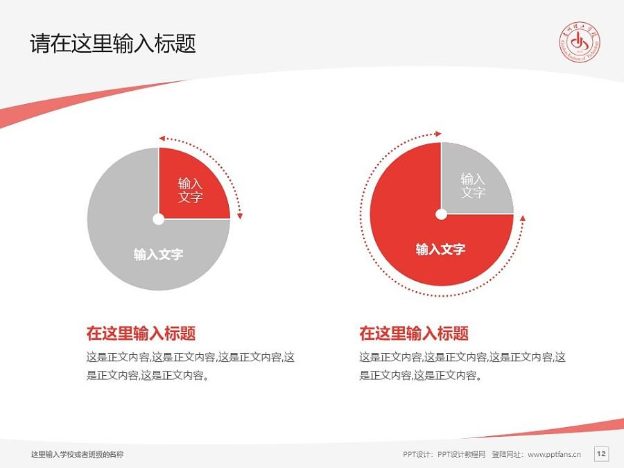 贵州理工学院PPT模板_幻灯片预览图12