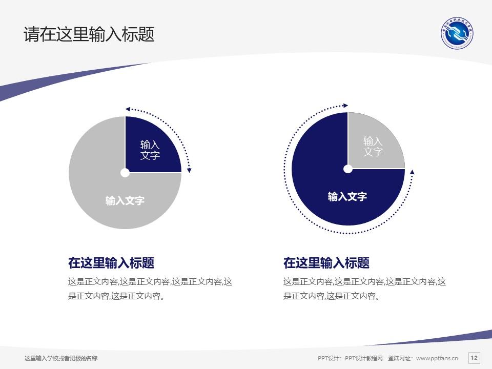 云南机电职业技术学院PPT模板下载_幻灯片预览图12