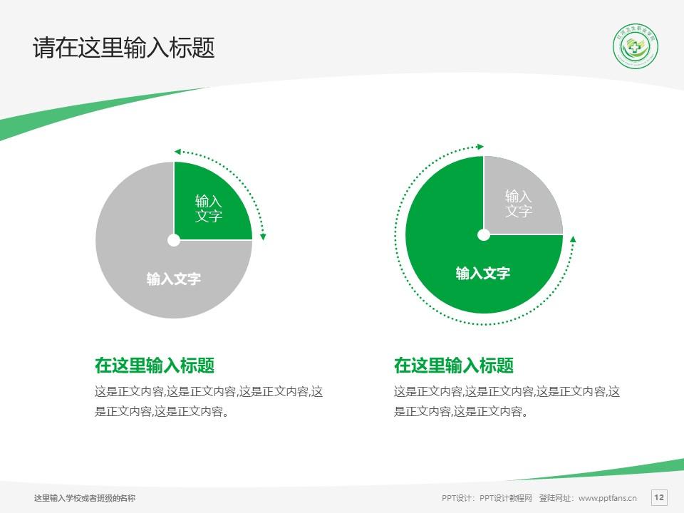 红河卫生职业学院PPT模板下载_幻灯片预览图12