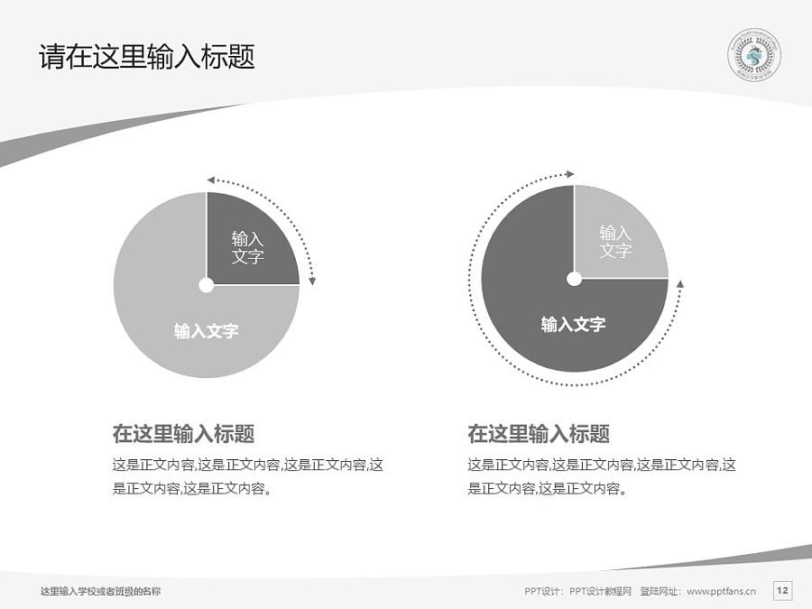 昆明卫生职业学院PPT模板下载_幻灯片预览图12