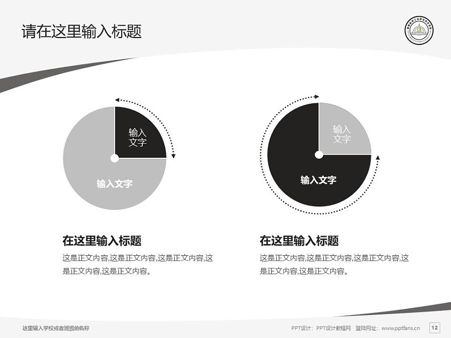 湖南科技工业职业技术学院PPT模板下载_幻灯片预览图12