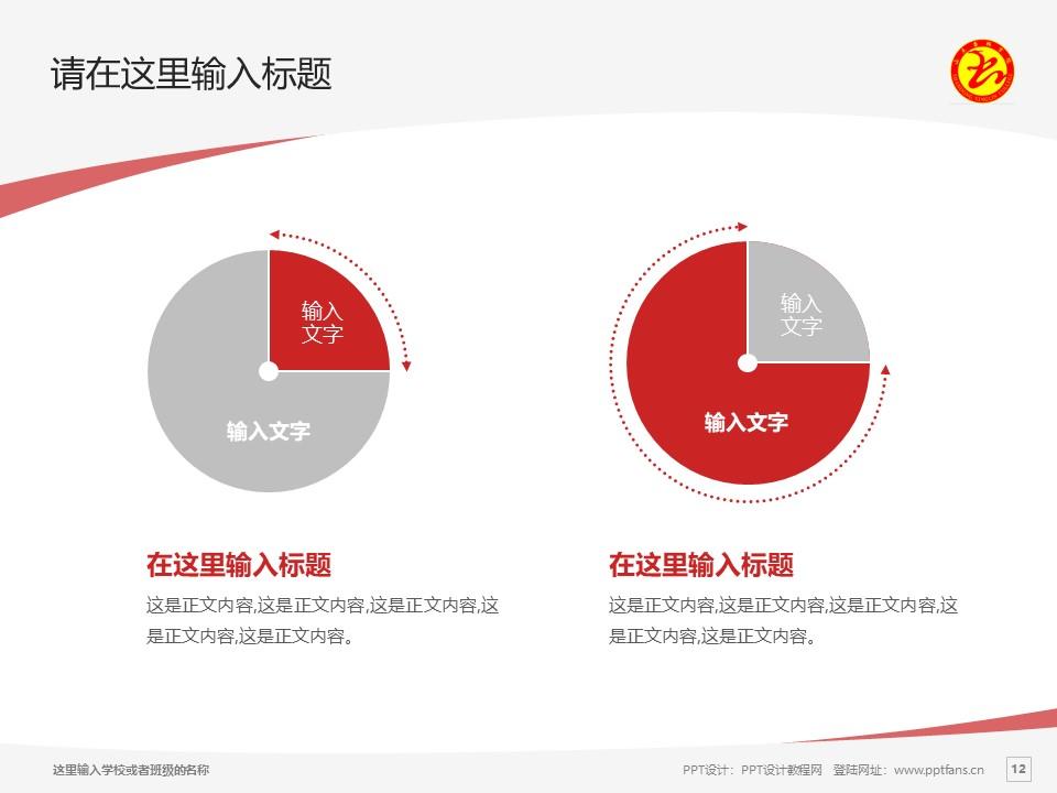 山东杏林科技职业学院PPT模板下载_幻灯片预览图12
