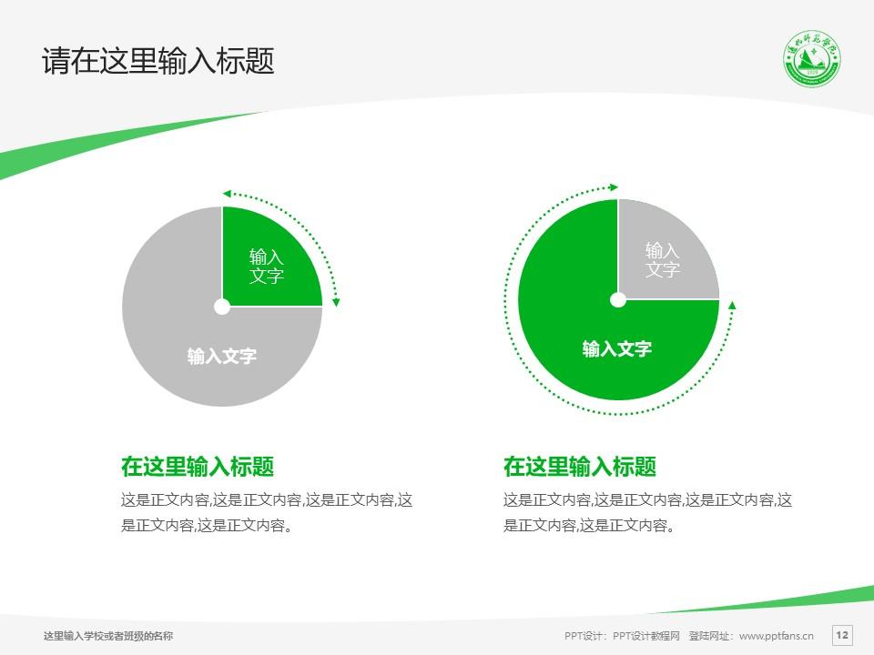 通化师范学院PPT模板_幻灯片预览图12