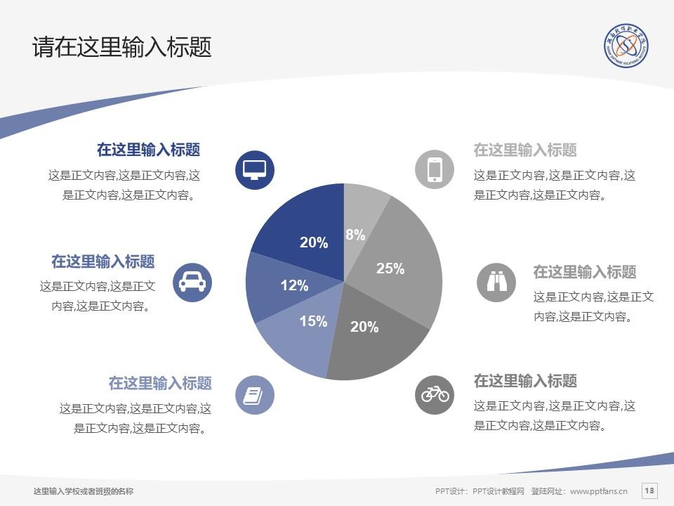 湖南软件职业学院PPT模板下载_幻灯片预览图13