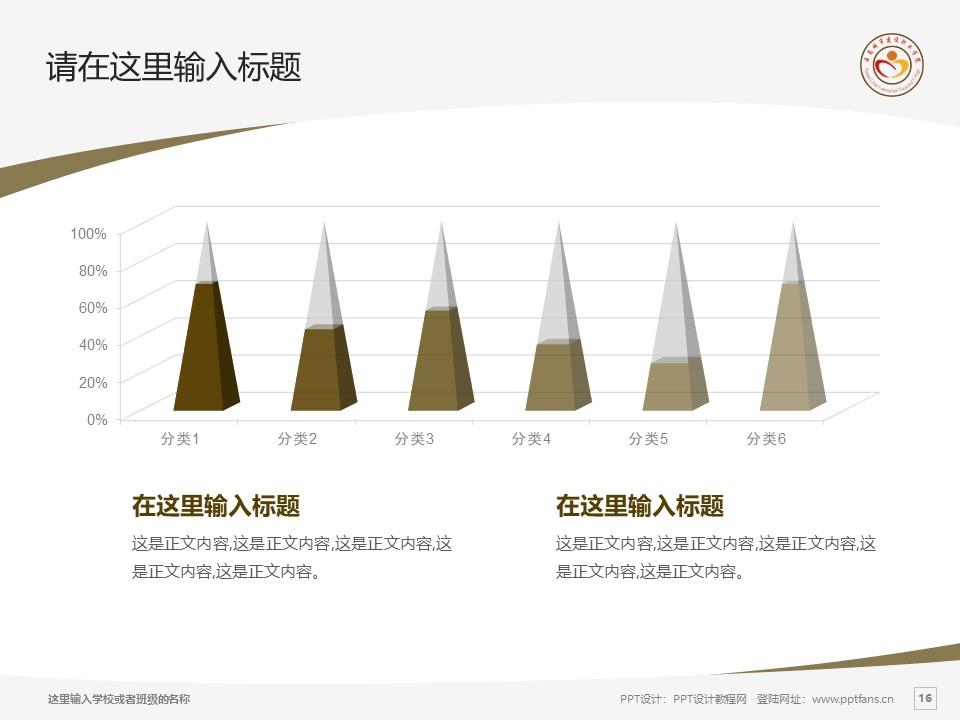 云南城市建设职业学院PPT模板下载_幻灯片预览图16