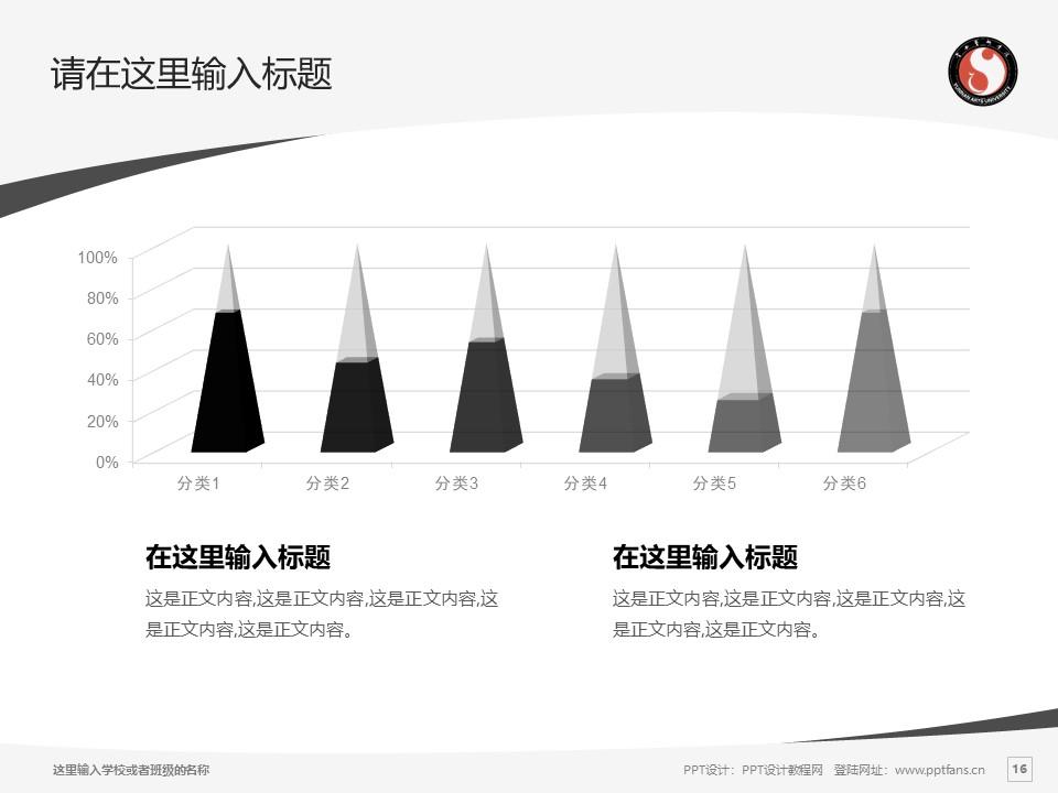 云南艺术学院PPT模板下载_幻灯片预览图16