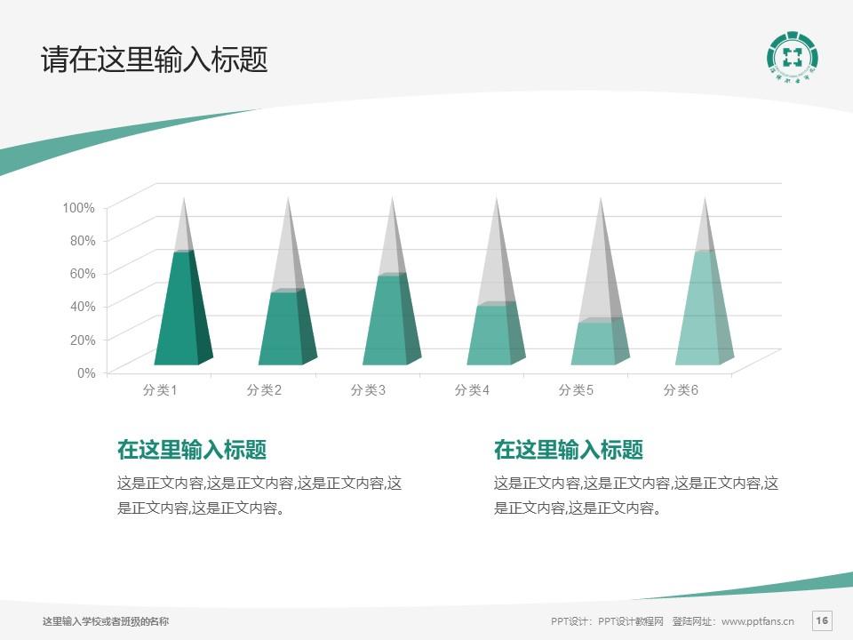 淄博职业学院PPT模板下载_幻灯片预览图16
