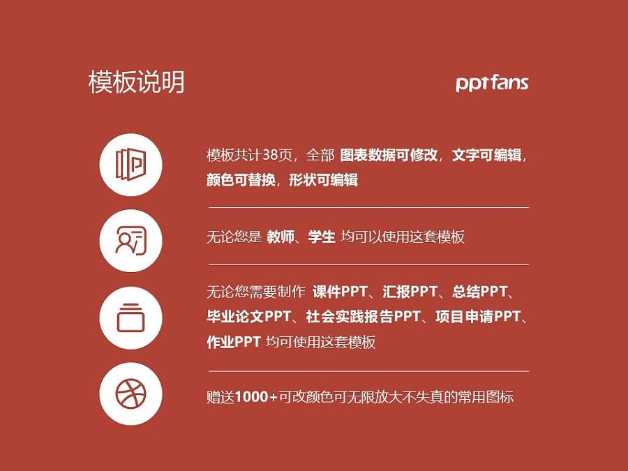 云南能源职业技术学院PPT模板下载_幻灯片预览图2