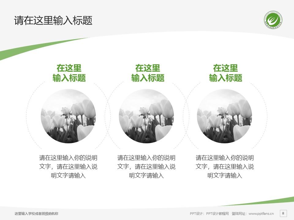 湖南现代物流职业技术学院PPT模板下载_幻灯片预览图8