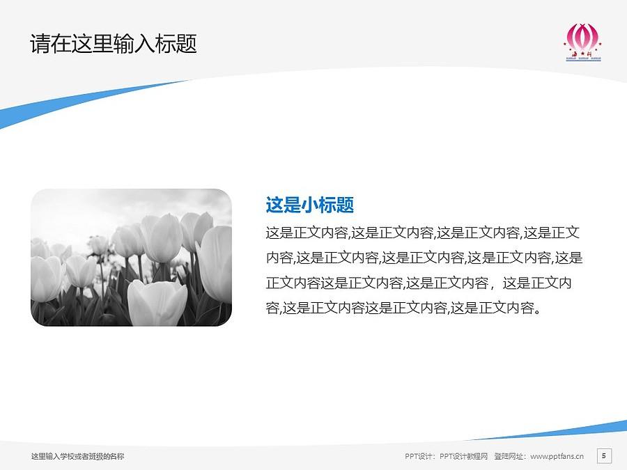 海南科技职业学院PPT模板下载_幻灯片预览图5