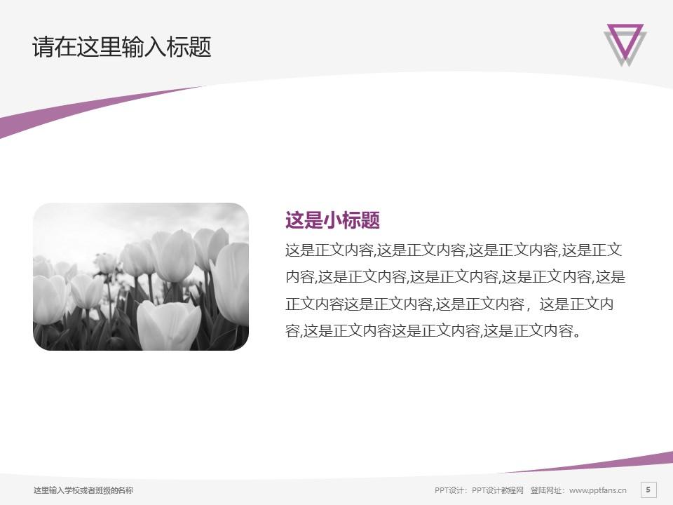 云南师范大学PPT模板下载_幻灯片预览图5