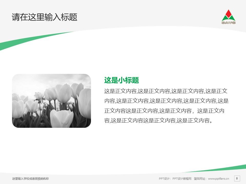 山东铝业职业学院PPT模板下载_幻灯片预览图5