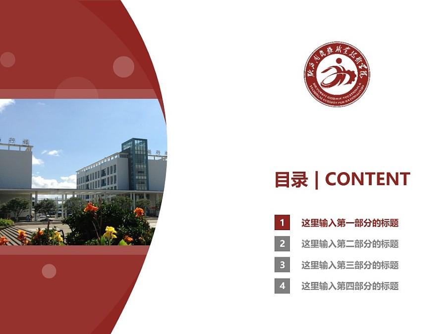 黔西南民族职业技术学院PPT模板_幻灯片预览图3