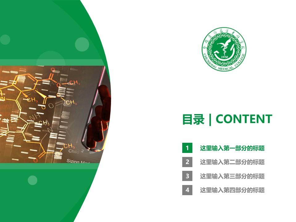 楚雄医药高等专科学校PPT模板下载_幻灯片预览图3