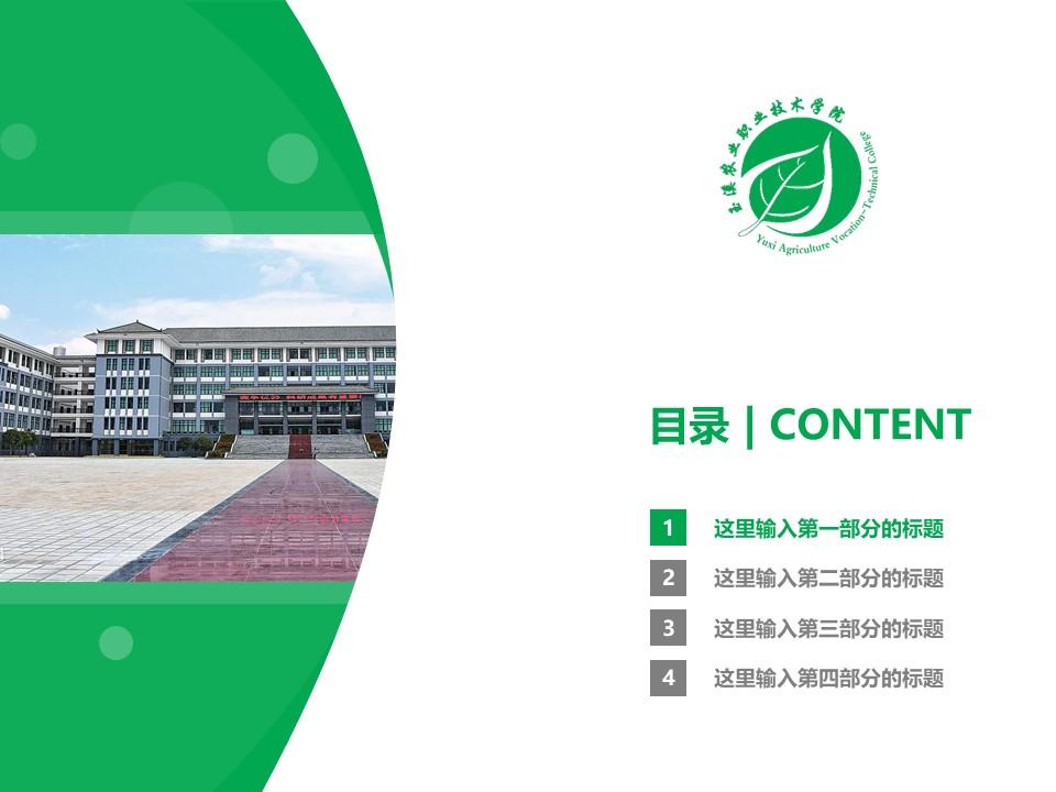 玉溪农业职业技术学院PPT模板下载_幻灯片预览图3