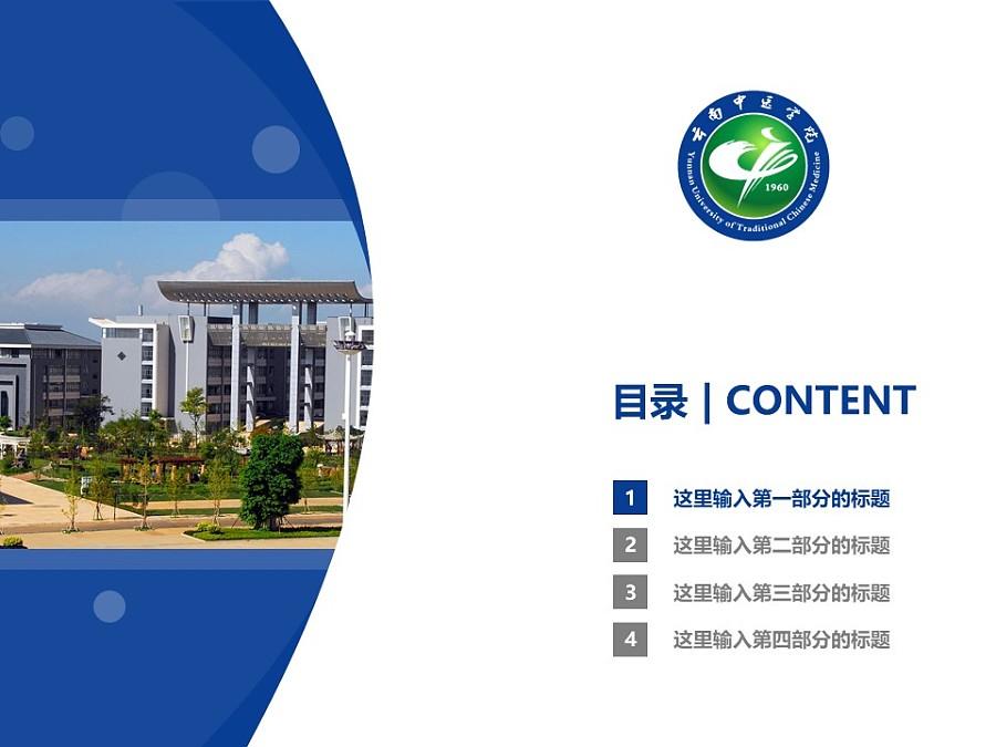云南中医学院PPT模板下载_幻灯片预览图3