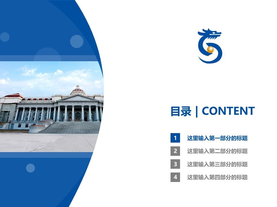 山东圣翰财贸职业学院PPT模板下载_幻灯片预览图3