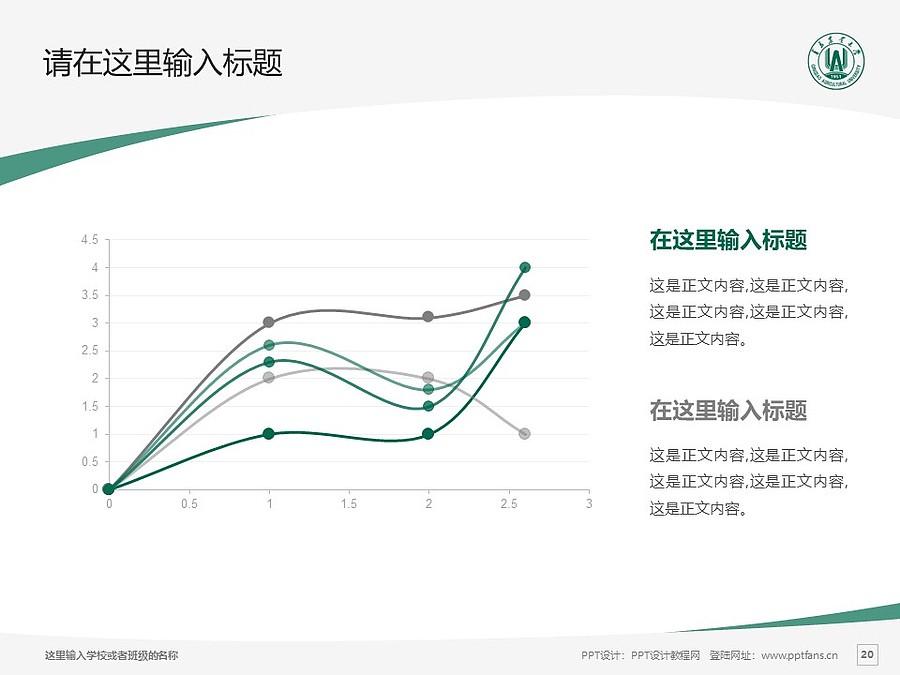 青岛农业大学PPT模板下载_幻灯片预览图20
