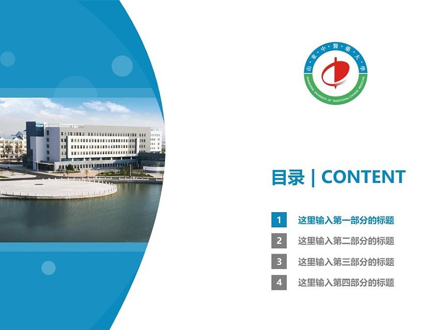 山东中医药大学PPT模板下载_幻灯片预览图3