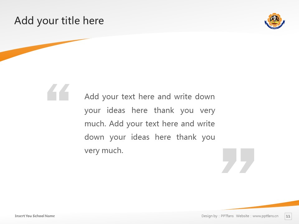 Bharathiar University powerpoint template download | 巴拉蒂尔大学PPT模板下载_slide12