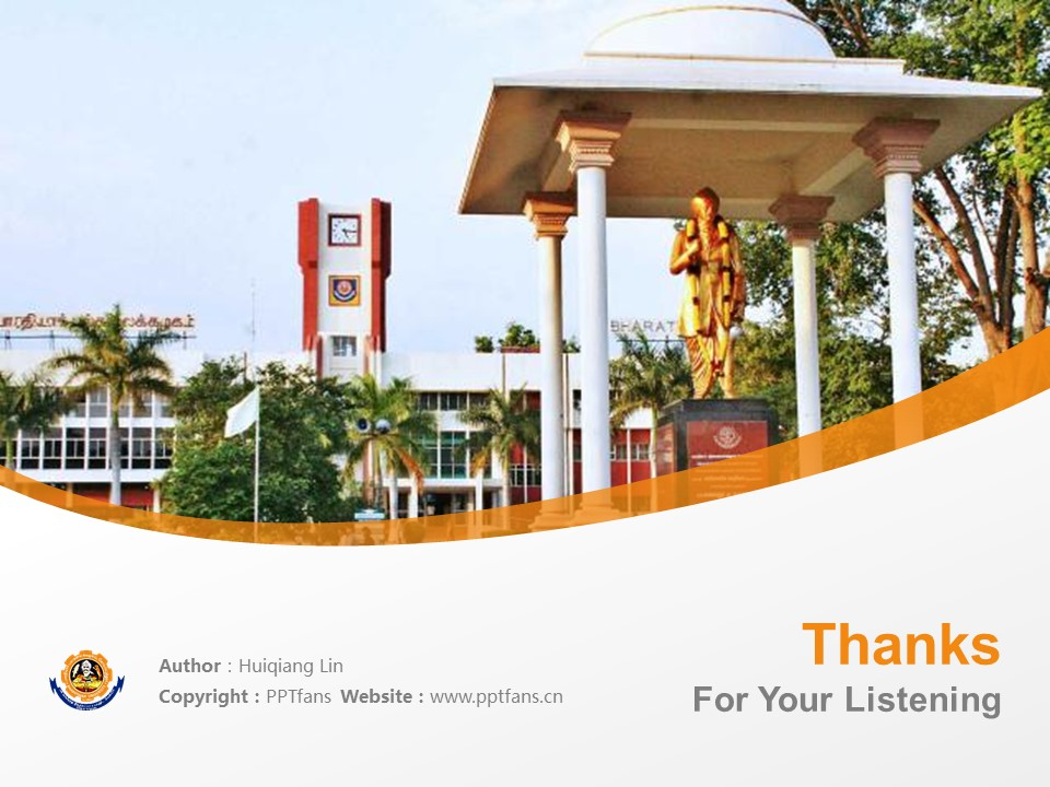 Bharathiar University powerpoint template download | 巴拉蒂尔大学PPT模板下载_slide18